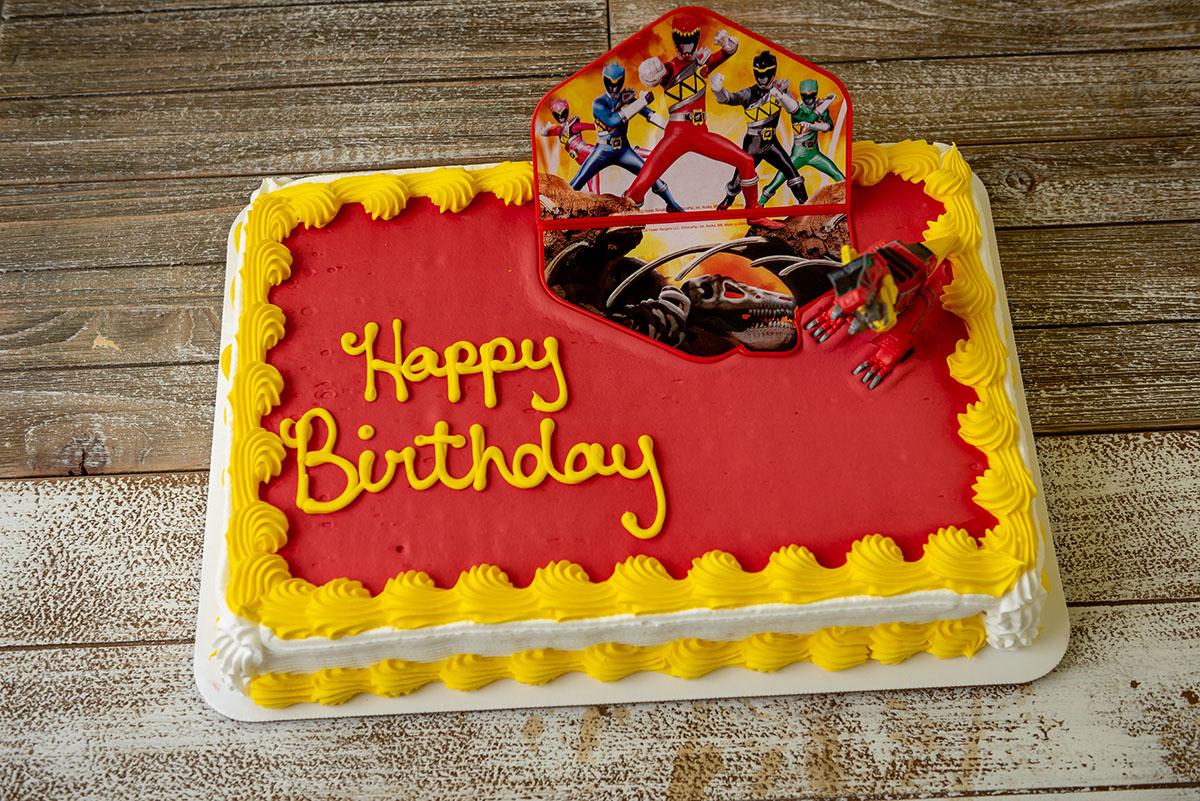 Fine Power Rangers Cake Federal Bake Shop Birthday Cards Printable Opercafe Filternl